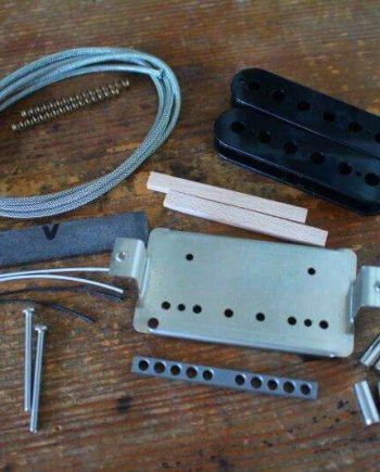 PMB 59 plus Hot Alnico 5 V Humbucker pickups White